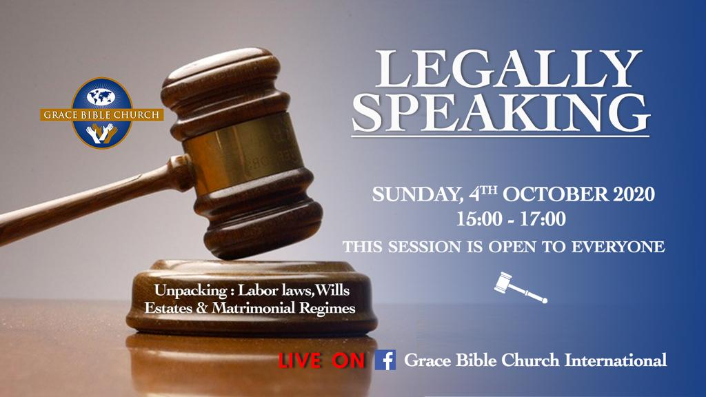 Legally Speaking Webinar